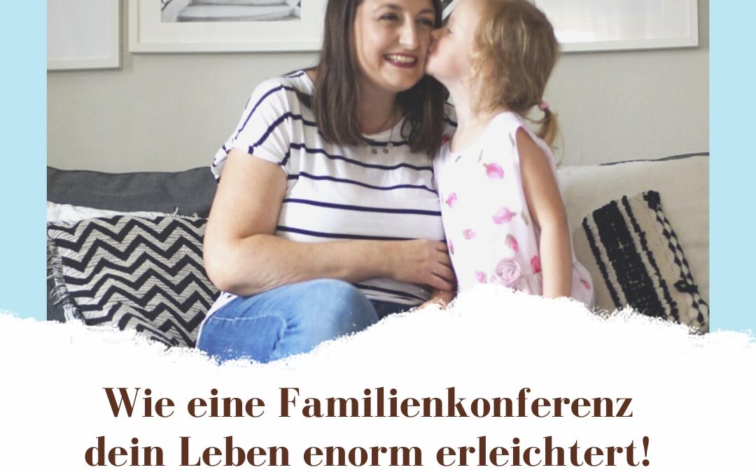 eine Familienkonferenz planen