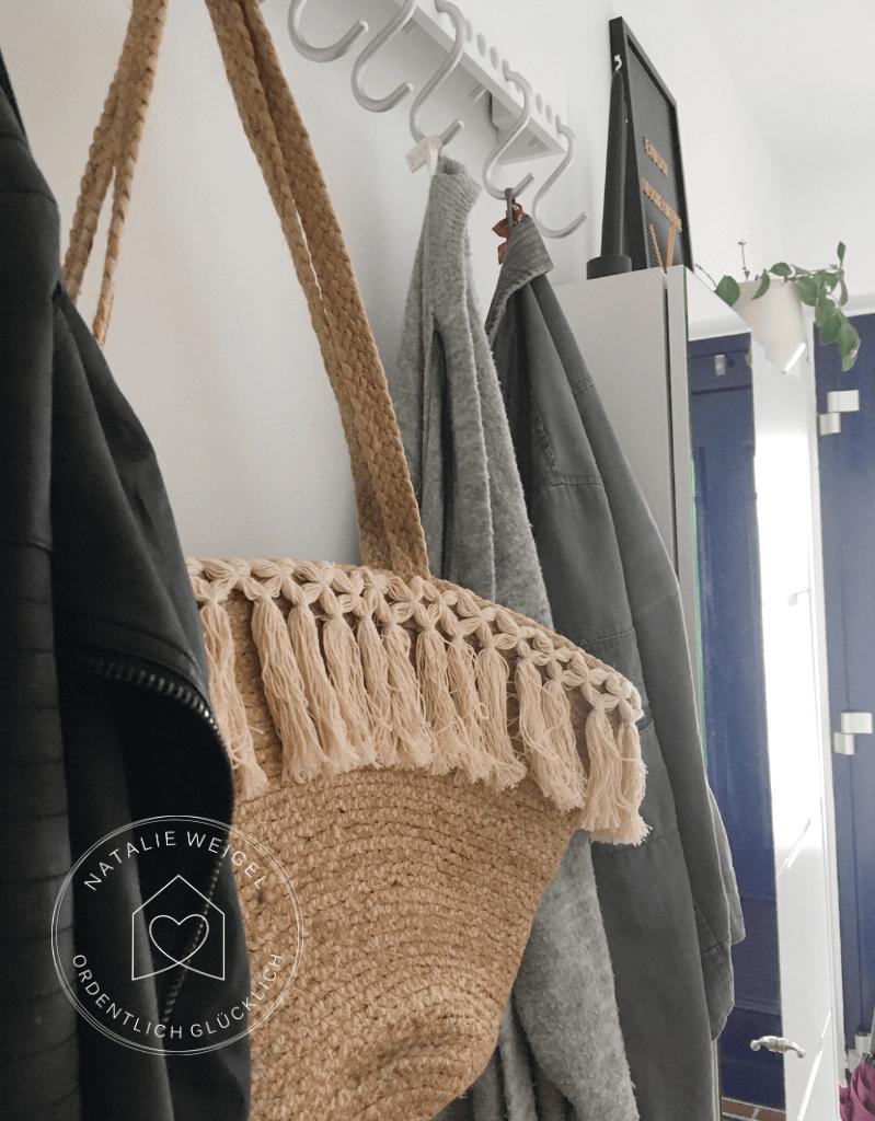 Garderobe ordnen