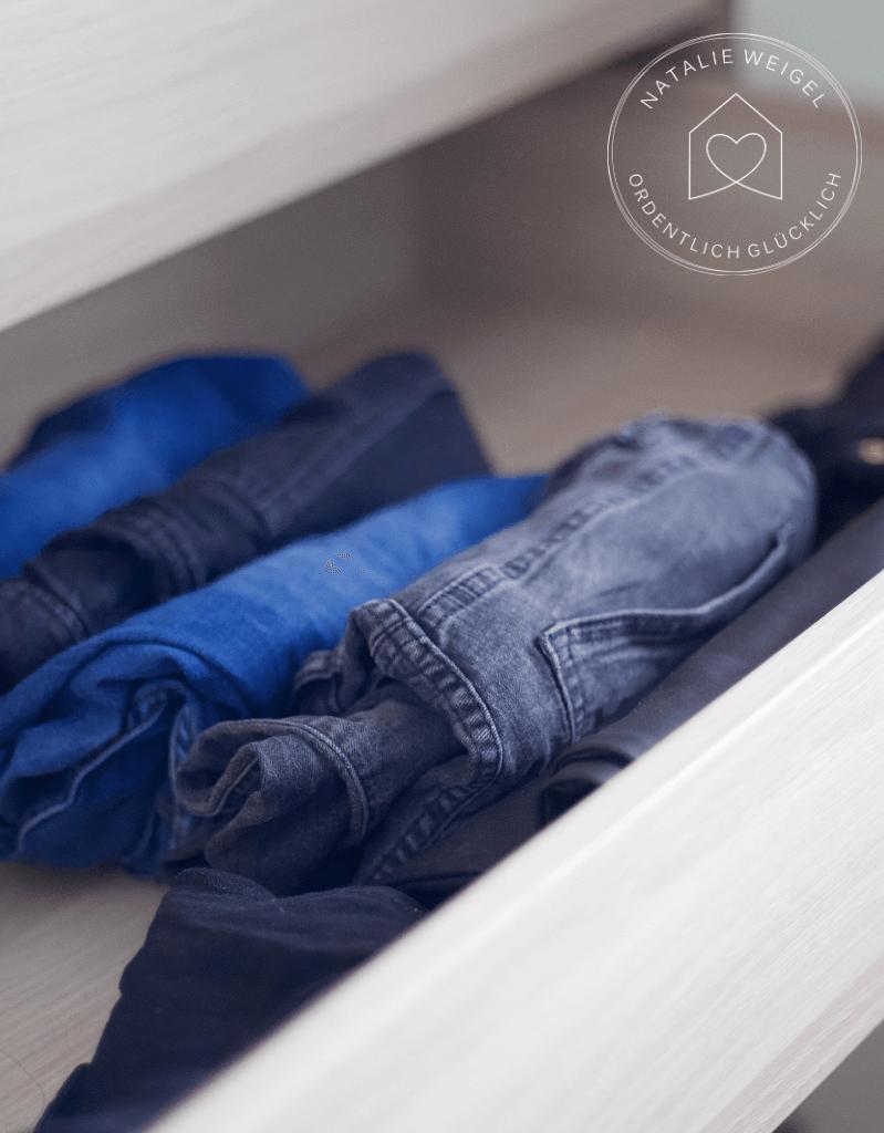 Kleider schnell aussortieren