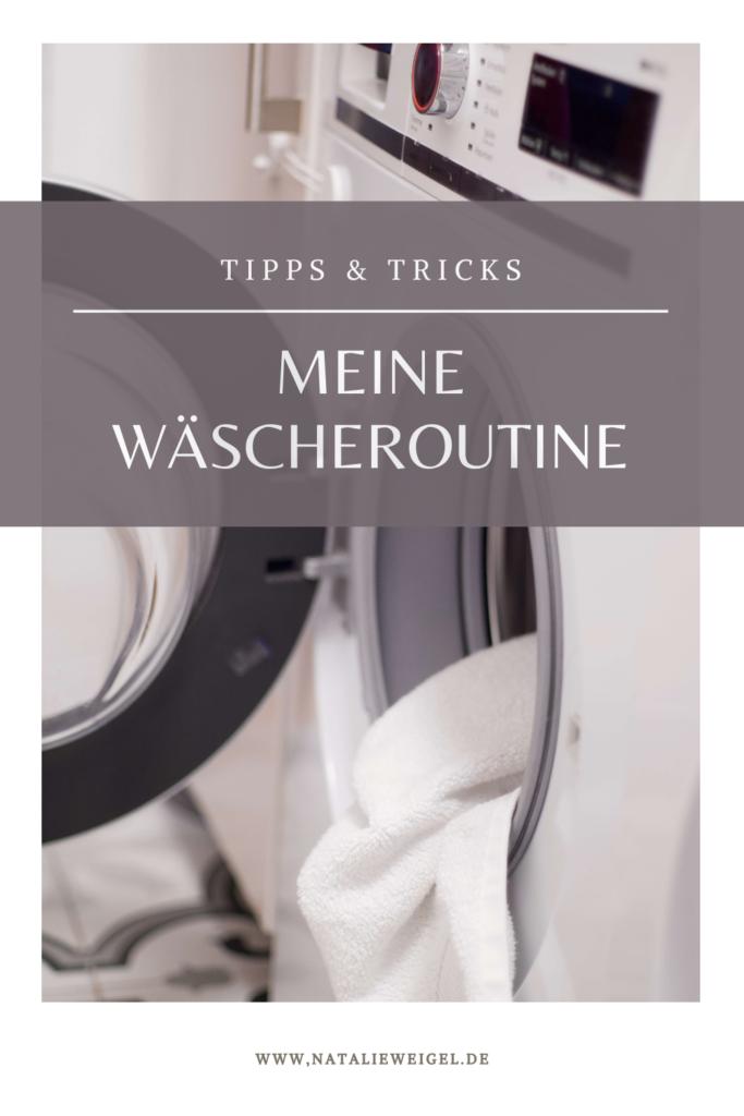 meine Wäscheroutine