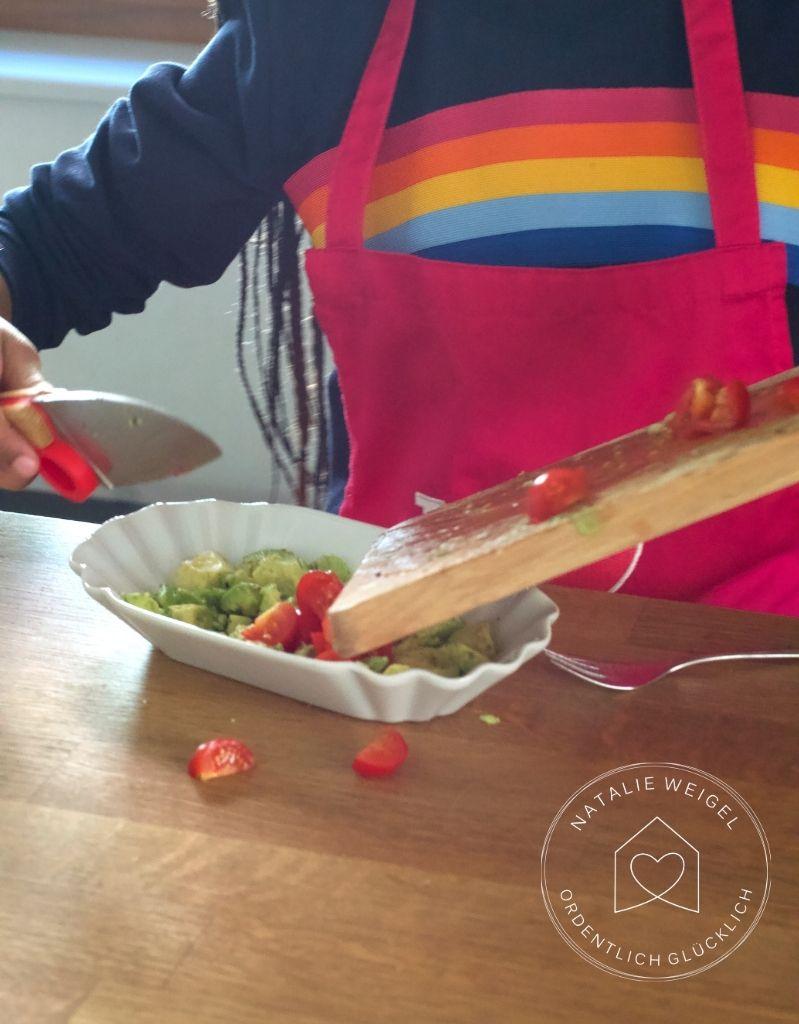 Mit Kindern kochen