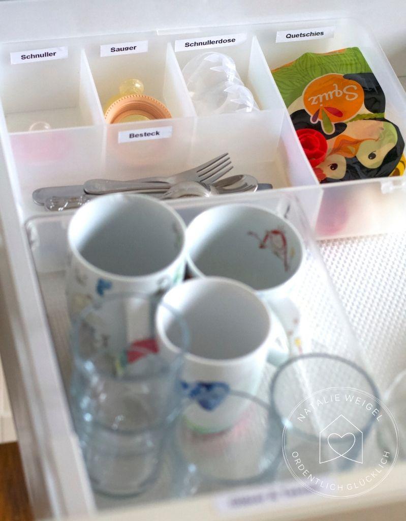 Kinderschublade in der Küche