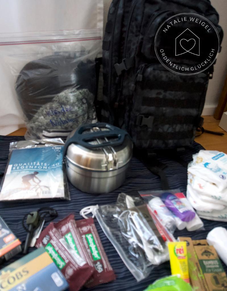 Packliste Notfallrucksack