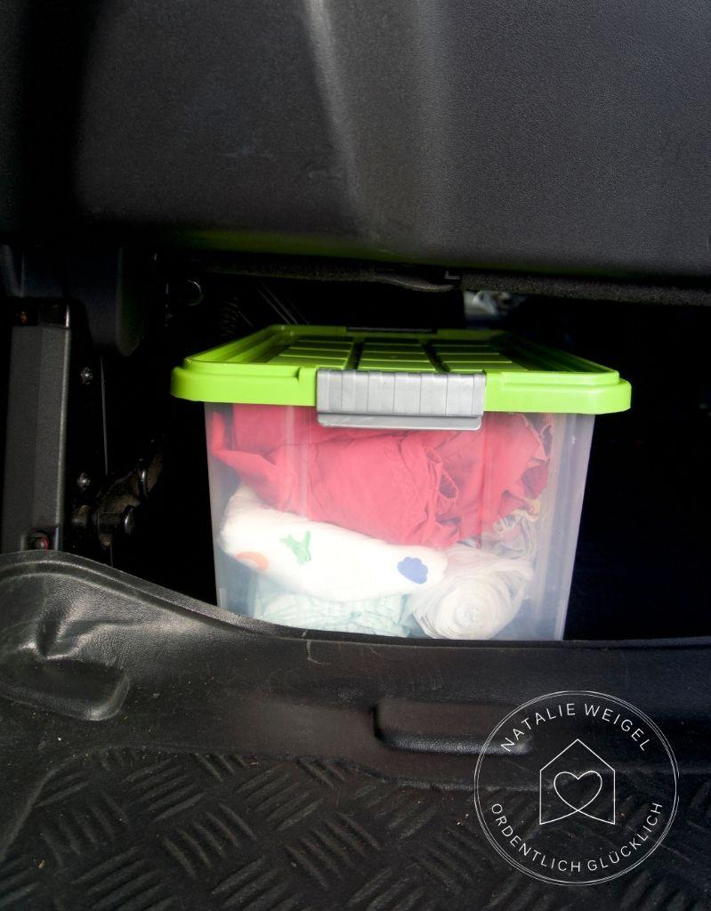 Brechen im Auto
