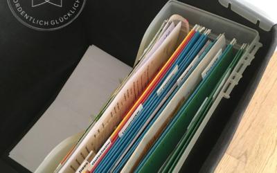 Die Lösung für dein Papierchaos – der Sunday Basket