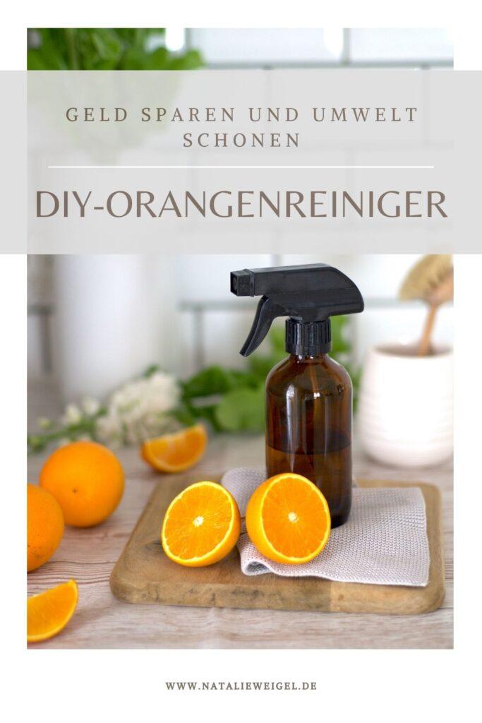 Orangenreiniger selbst machen