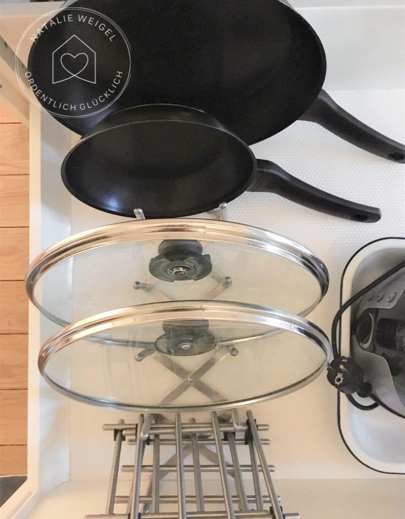 Küche schnell ausmisten