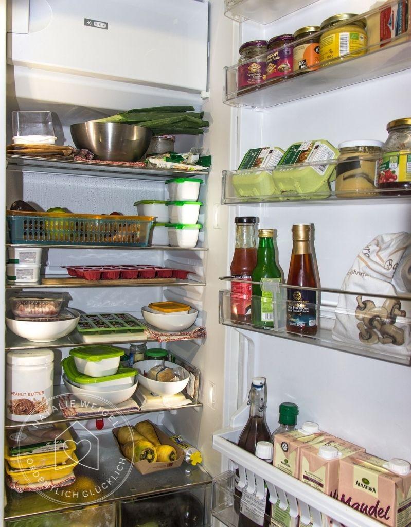 Kühlschrank überprüfen und Reste nutzen