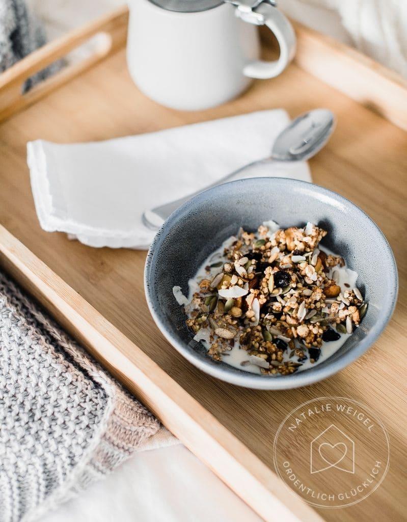 Frühstück aus dem Notvorrat